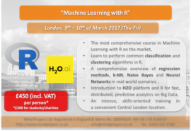 Machine Learning with R - London - March 2017