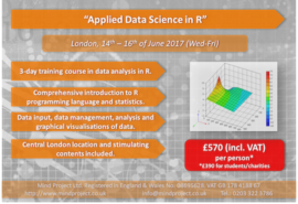 Applied Data Science in R - London - June 2017