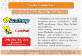 Introduction to Hadoop - London - June 2017